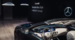 Ameluna – lampa futuristă cu lumină ambientală asemănătoare cu aceea din limuzinele Mercedes