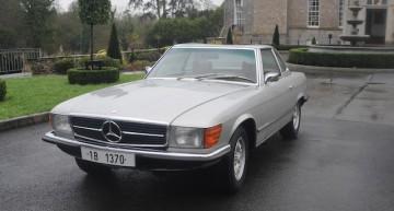 Mercedes-ul 350 SL al lui Ceaușescu scos la licitația organizată de Bonhams