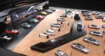 Colecția mașinilor de vis – Un tur al standului Mercedes-Benz de la Geneva