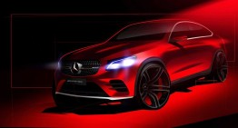 E pe drum! Mercedes-Benz GLC Coupe promovat din nou