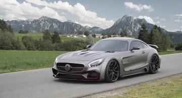 Faceți cunoștință cu bestia Mansory – Mercedes-AMG GT S cu 730 CP