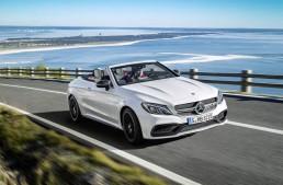 Cu viteză maximă către vară la bordul noului Mercedes-AMG C 63 Cabriolet