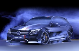 Rottweiler – Mercedes-AMG C63 S transformat în câine rău de Piecha Design