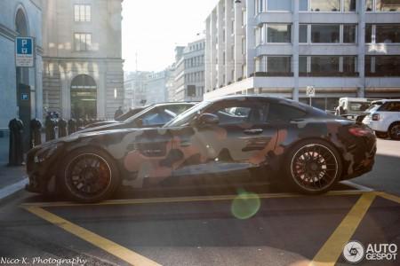 Mercedes-AMG GT camuflaj milităresc