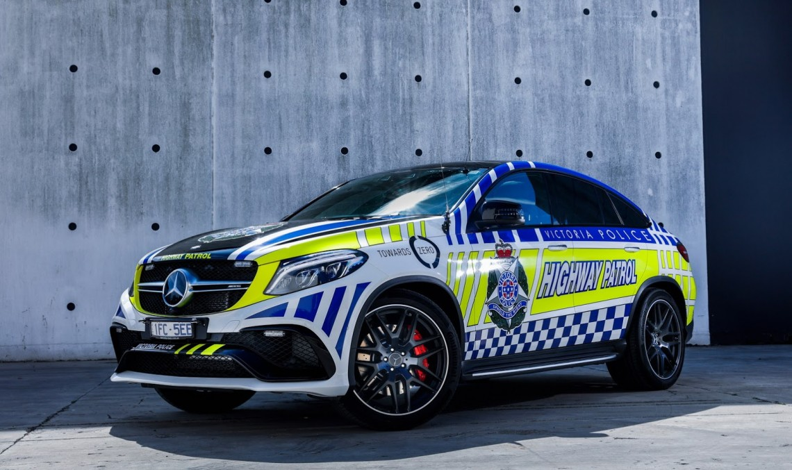 Apărînd legea cu stil – Mașina de poliție Mercedes-AMG GLE 63 S Coupe