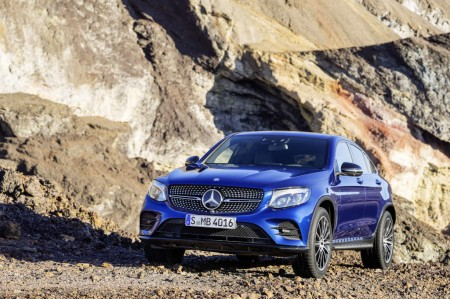 Mercedes-Benz GLC Coupé, C253, 2016.Mercedes-Benz GLC Coupé, C253, 2016.