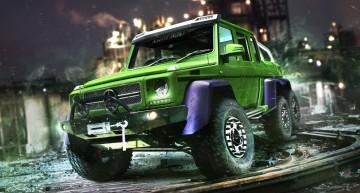 Hulk Mercedes G 63 6×6. Legendarul supererou verde și-a găsit mașina