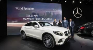 Salonul Auto de la New York: patru modele Mercedes-AMG și noul Mercedes GLC Coupe