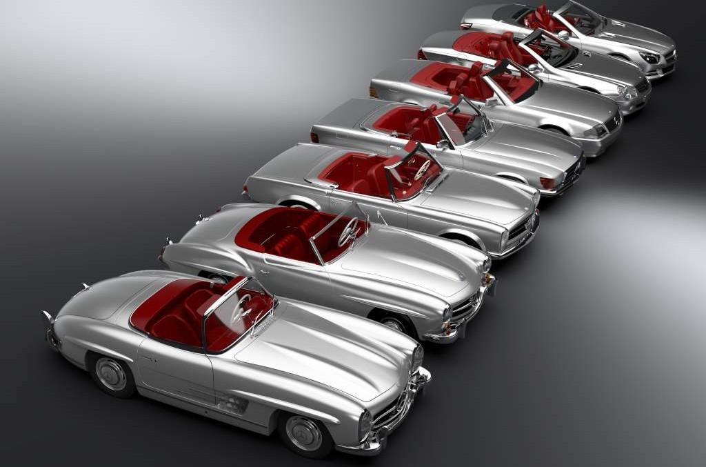 60 de ani de experiență adunați într-o mașină – Noul SL ajunge pe șosele în aprilie