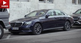 Remote Parking Pilot: Mercedes E-Class are aptitudini de James Bond