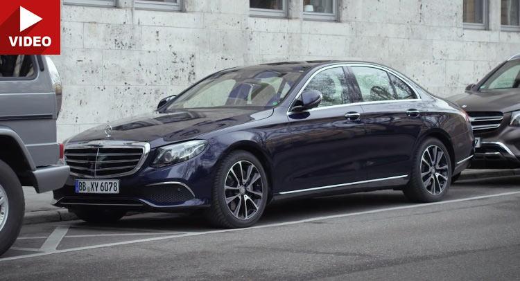 Remote Parking Pilot: Mercedes E-Class are aptitudini de James Bond