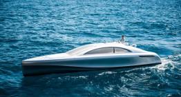 Săgeata Argintie a Mărilor – Yacht-ul Mercedes-Benz de 960 CP
