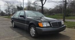 Prea noi pentru a fi clasice – Două Mercedes-uri din anii '90 la vânzare pentru 300.000 de dolari