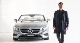Cei mai stilați britanici – Actorul Benedict Cumberbatch în ședință foto cu S-Class Cabrio