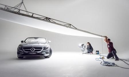 Benedict Cumberbatch Mercedes-Benz S-Class Cabriolet