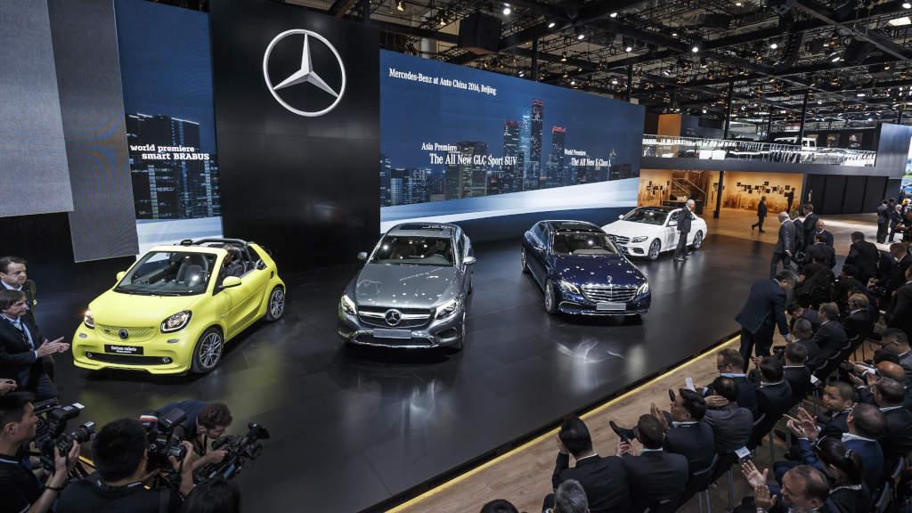 Made in China: Urmăriți prezentarea live a Clasei E cu ampatament lung și vedeți ce prezintă Mercedes-Benz la Beijing