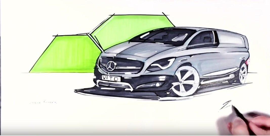 Un tânăr talentat își întâlnește idolii de la Mercedes-Benz Design