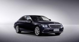 Primul video cu Mercedes-Benz E-Class cu ampatament lung