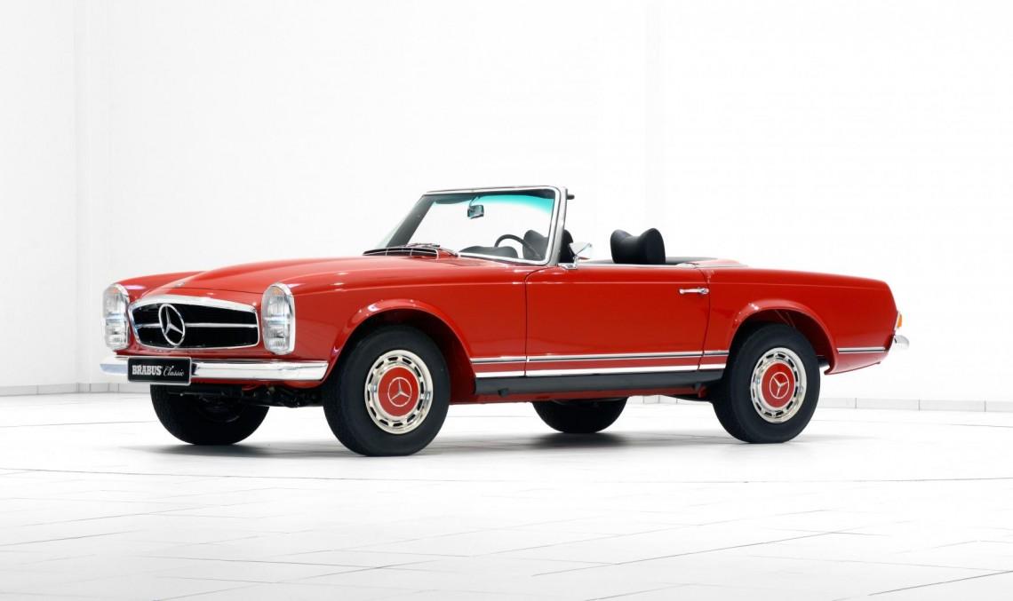 Automobile Mercedes-Benz clasice restaurate de Brabus trăiesc a doua tinerețe
