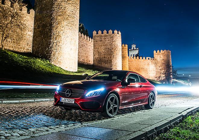 7 țări în 7 zile la bordul unui Mercedes-Benz C-Class Coupé
