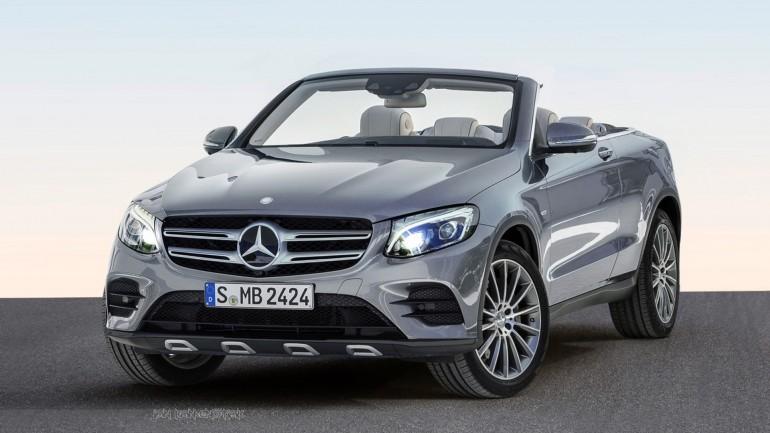 Jos acoperișul! Așa ar putea arăta Mercedes-Benz GLC Cabrio