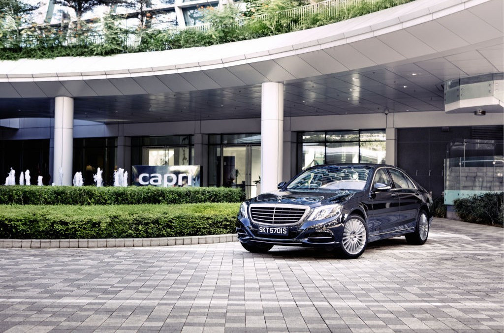 Apartamente de lux concepute de Mercedes-Benz
