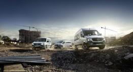 Trei dintr-o lovitură – Divizia Mercedes-Benz Vans primește trei trofee