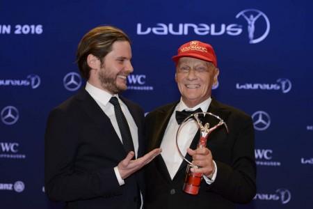 Daniel Bruhl & Niki Lauda Premiile Laureus