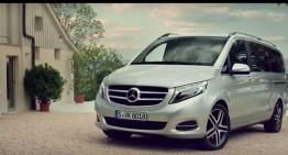 Mercedes-Benz V-Class – Pregătit pentru Roger Federer și familia sa