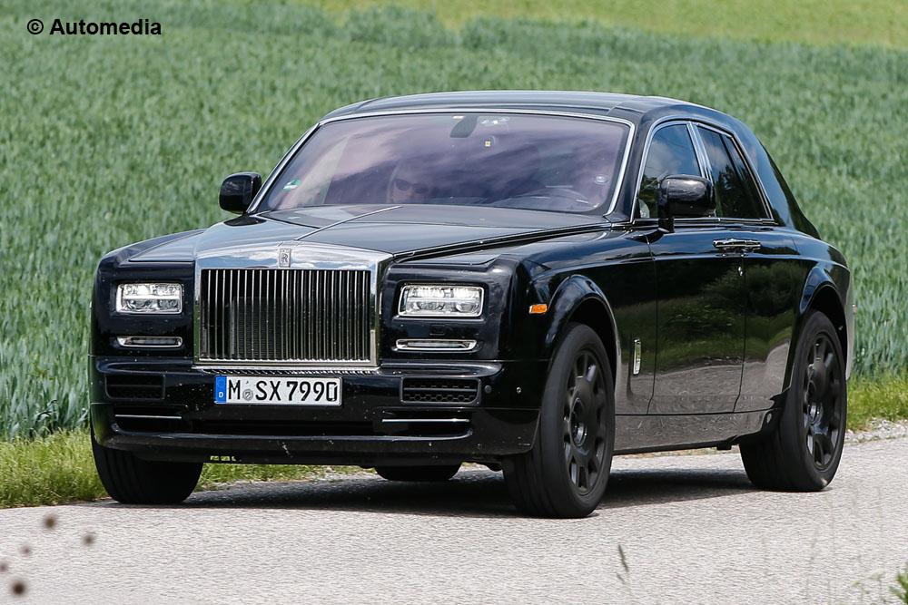 Spy-Shots of Cars Rolls Royce