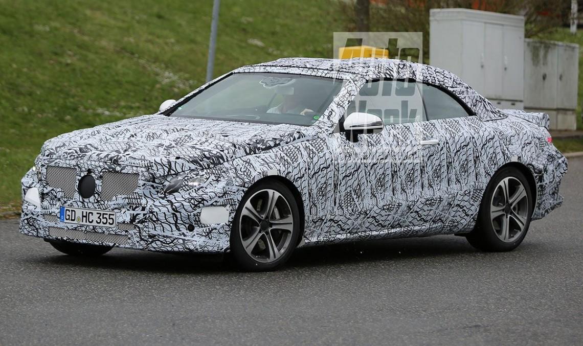 Jos pălăria! Dezvăluim secretele noului Mercedes E-Class Cabrio 2017