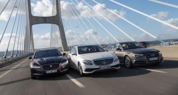 Eurovision 2016. Mercedes E-Class față-n față cu Audi A6 și Jaguar XF