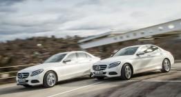 Războiul diesel. Mercedes C 220 d versus C 250 d, putere versus economie