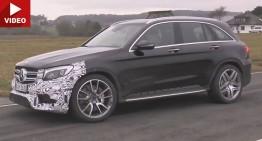 Noul super SUV Mercedes GLC AMG a fost filmat
