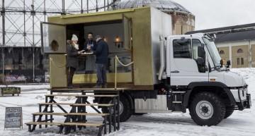BurgerMog, primul camion Mercedes Unimog transformat în cantină pe roți