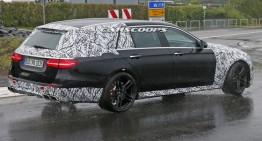 Mercedes-AMG E 63 break cu 604 CP își arată stopurile în premieră