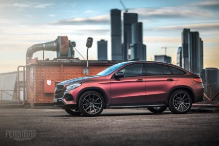Mercedes-Benz-GLE-Coupe-Ferdinand Visual Workshop (7)