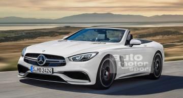 Mercedes SL 2019 cu acoperiș textil