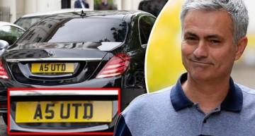 Un Mercedes-Benz S-Class îll duce pe Jose Mourinho la Manchester United
