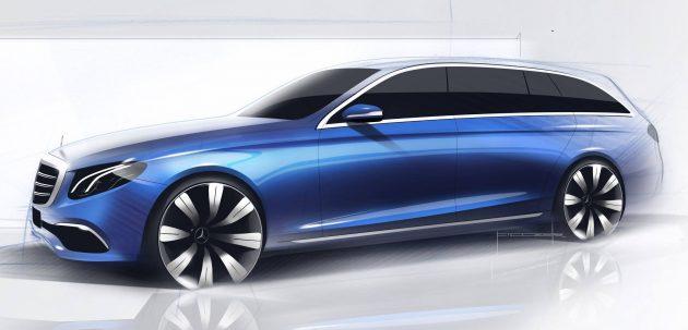 Mercedes-Benz E-Class Estate își va face apariția în iunie