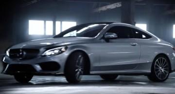 Nu încercați asta acasă. Spotul TV cu Mercedes C-Class Coupe forțează limitele