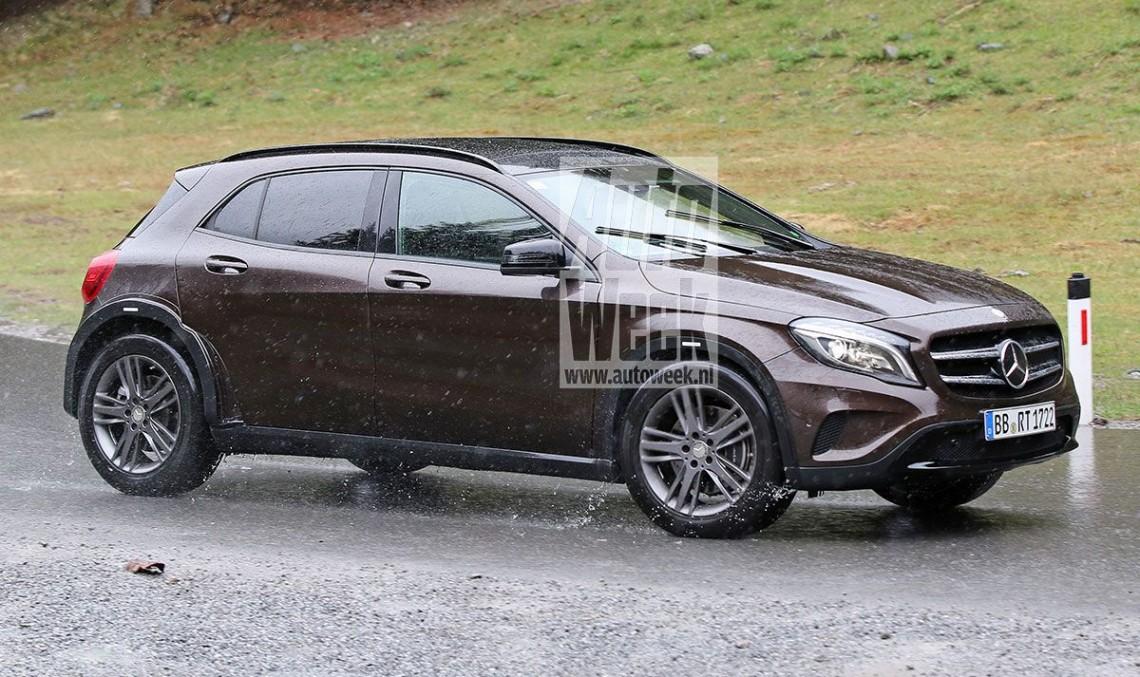 Mercedes GLB: Baby G-Class cu 7 locuri surprins în teste