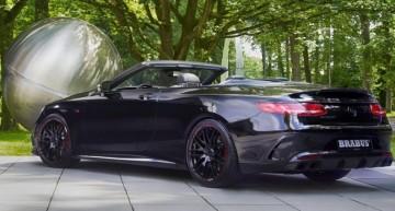 Titanul – Brabus 850 6.0 Biturbo Cabrio bazat pe Mercedes-AMG S63