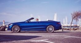 Cu un Mercedes decapotabil la Saint Tropez – C-Class Cabriolet
