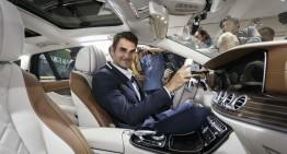 Game, set, meci pentru spațiu – Federer, primul la volanul noului E-Class Estate