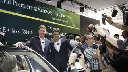 Roger Federer Mercedes-Benz E-Class Estate