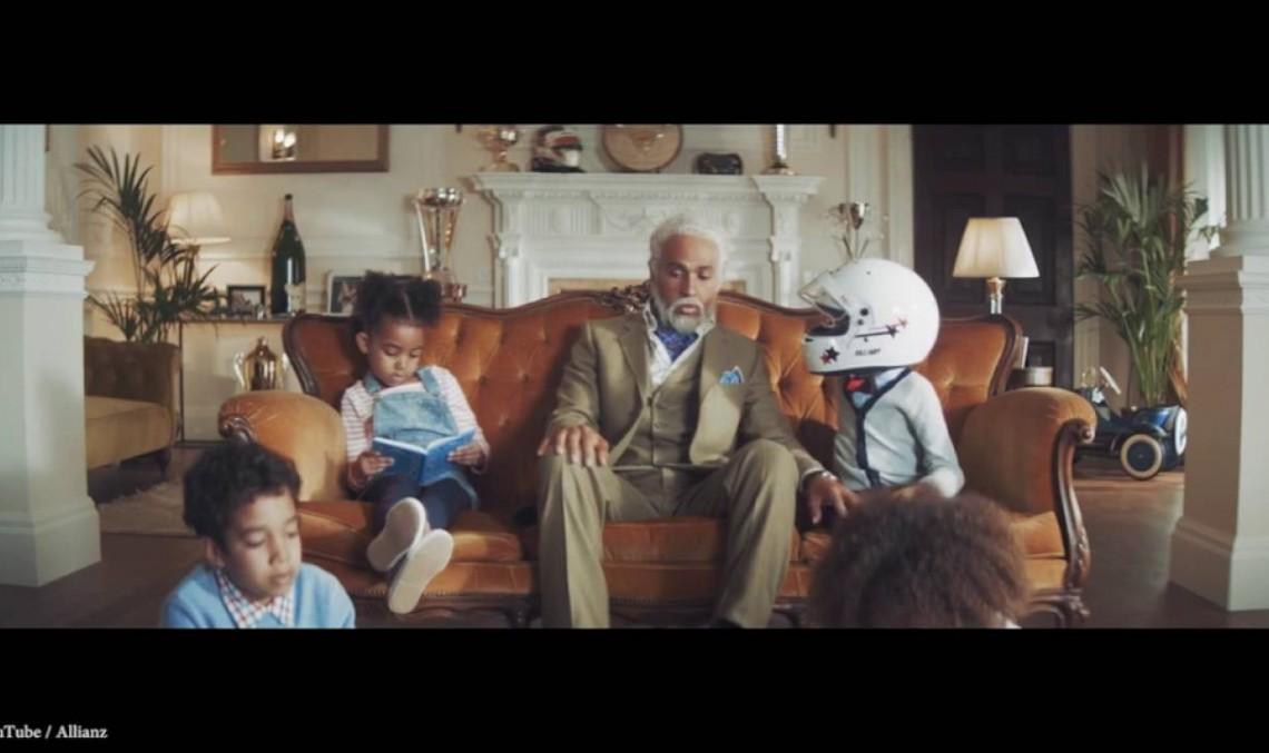 Faceți cunoștință cu bunicul Lewis! Campionii nu sunt prudenți!