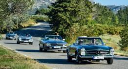 Departe de civilizație – La bordul unui Mercedes-Benz SL în Provence