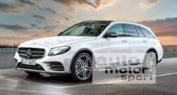 Allroad de la Benz: Mercedes E-Class T-Modell All Terrain