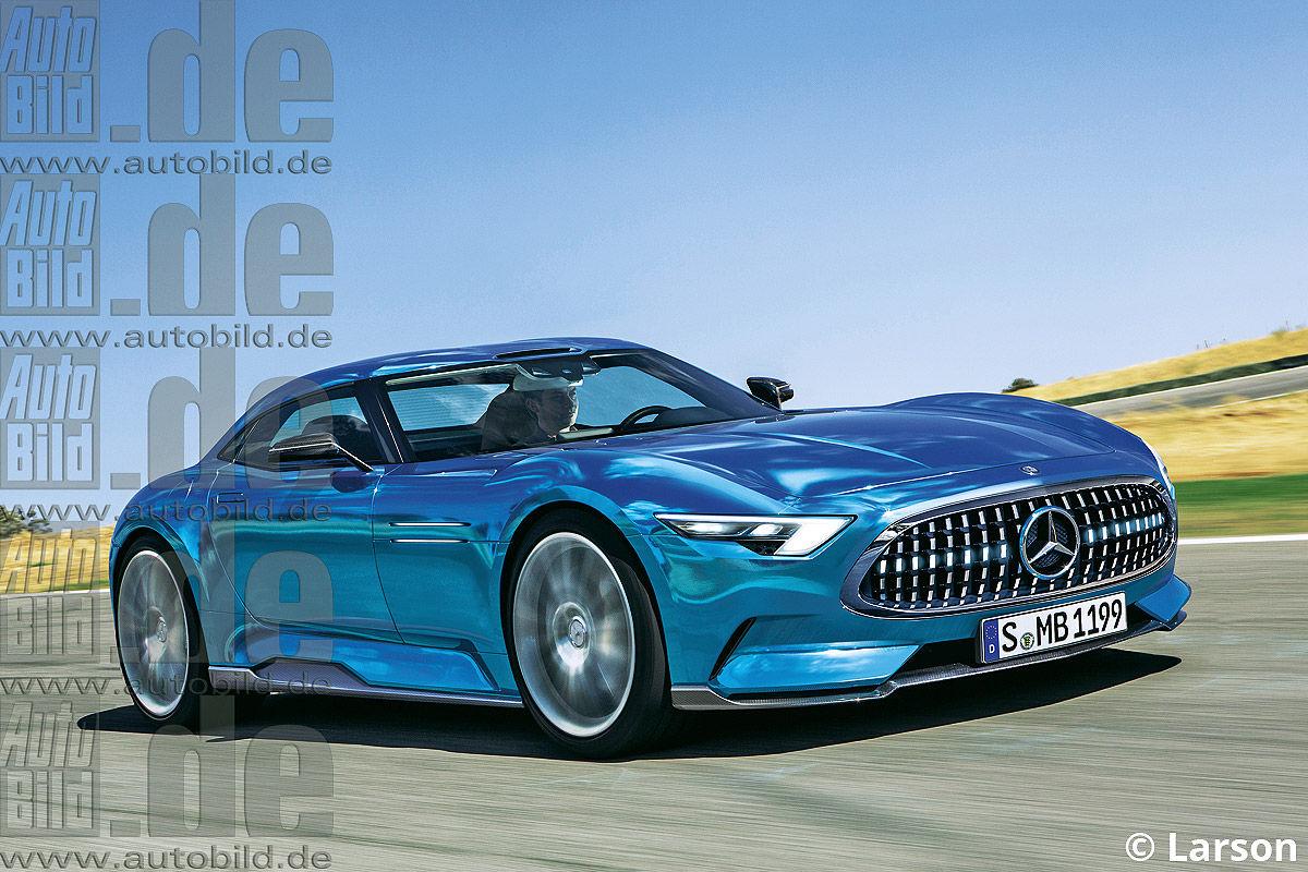 Mercedes SLR II